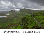 walking tour on the isle of... | Shutterstock . vector #1160851171