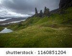 rock formation 'old man of... | Shutterstock . vector #1160851204