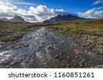 typical countryside in scotland ... | Shutterstock . vector #1160851261