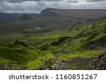 breathtaking panorama view over ... | Shutterstock . vector #1160851267