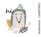 vector illustration of cute... | Shutterstock .eps vector #1160870851