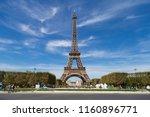 paris  france. august 4  2018 ... | Shutterstock . vector #1160896771