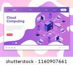 data network cloud computing...   Shutterstock .eps vector #1160907661