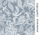 floral seamless pattern with... | Shutterstock .eps vector #1160915851