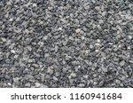 grey gravel stone texture... | Shutterstock . vector #1160941684