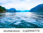 norway lysefjord fjord panorama ... | Shutterstock . vector #1160944774