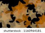 multicolored translucent stars... | Shutterstock . vector #1160964181
