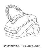 vacuum cleaner illustration ... | Shutterstock .eps vector #1160966584