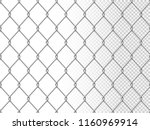 realistic chain link seamless... | Shutterstock .eps vector #1160969914