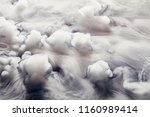 abstract background of clouds... | Shutterstock . vector #1160989414
