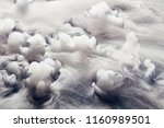 abstract background of clouds... | Shutterstock . vector #1160989501