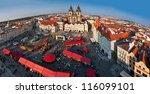czech republic  prague  old... | Shutterstock . vector #116099101