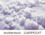 abstract background of clouds... | Shutterstock . vector #1160992147