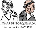 tomas de torquemada  grand... | Shutterstock .eps vector #116099791