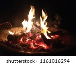 Embers In The Fire Pit