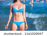 sexy gorgeous woman with...   Shutterstock . vector #1161020047