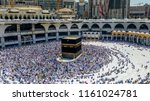 mecca saudi arabia september 24 ... | Shutterstock . vector #1161024781