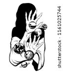 vector hand drawn illustration...   Shutterstock .eps vector #1161025744