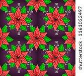 retro textile design collection....   Shutterstock . vector #1161032497