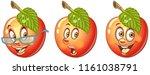 apple. healthy food concept.... | Shutterstock .eps vector #1161038791