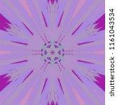creative bright mandala....   Shutterstock . vector #1161043534