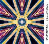 creative bright mandala....   Shutterstock . vector #1161043537