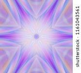 creative bright mandala....   Shutterstock . vector #1161043561