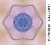 creative bright mandala....   Shutterstock . vector #1161043564
