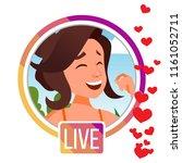 stories. girl streamer. live...