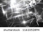 abstract white and black... | Shutterstock . vector #1161052894