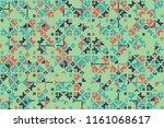 vector seamless geometric... | Shutterstock .eps vector #1161068617