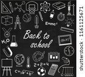 back to school.   Shutterstock .eps vector #1161125671