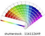vector file of color palette