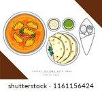 illustration vector isolated... | Shutterstock .eps vector #1161156424