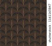 art deco seamless pattern....   Shutterstock .eps vector #1161165847