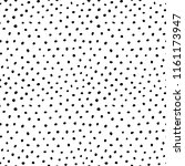 irregular dots pattern.... | Shutterstock .eps vector #1161173947