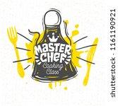 cooking school  culinary... | Shutterstock .eps vector #1161190921
