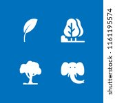 ecology icon. 4 ecology set... | Shutterstock .eps vector #1161195574