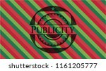 publicity christmas style... | Shutterstock .eps vector #1161205777