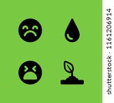 despair icon. 4 despair set... | Shutterstock .eps vector #1161206914