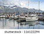 Boats At A Pier In Seward ...