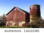 American Old Country Farm With...