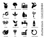 set of 16 icons such as reload...