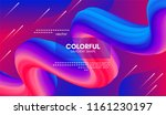 abstract modern background with ... | Shutterstock .eps vector #1161230197