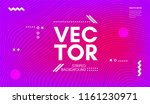 abstract wave poster with... | Shutterstock .eps vector #1161230971
