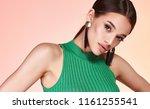 portrait of beautiful sexy... | Shutterstock . vector #1161255541