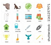 set of 16 icons such as toy ... | Shutterstock .eps vector #1161257971