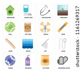 set of 16 icons such as... | Shutterstock .eps vector #1161269317