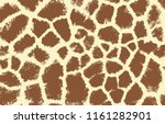 Giraffe Texture Pattern Brown...
