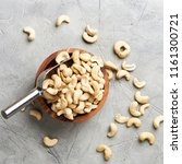 bowl of cashew nuts | Shutterstock . vector #1161300721